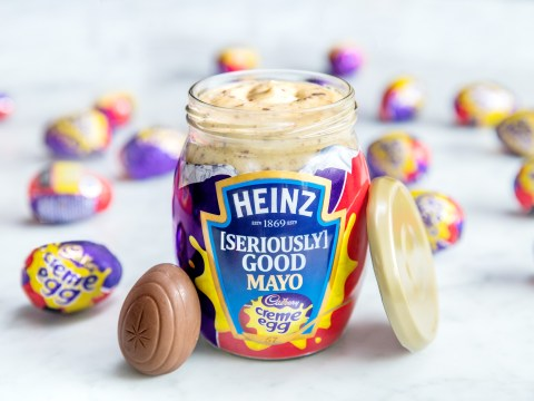 Heinz Creme Egg Mayo wasn't an April Fool – you can actually try it yourself