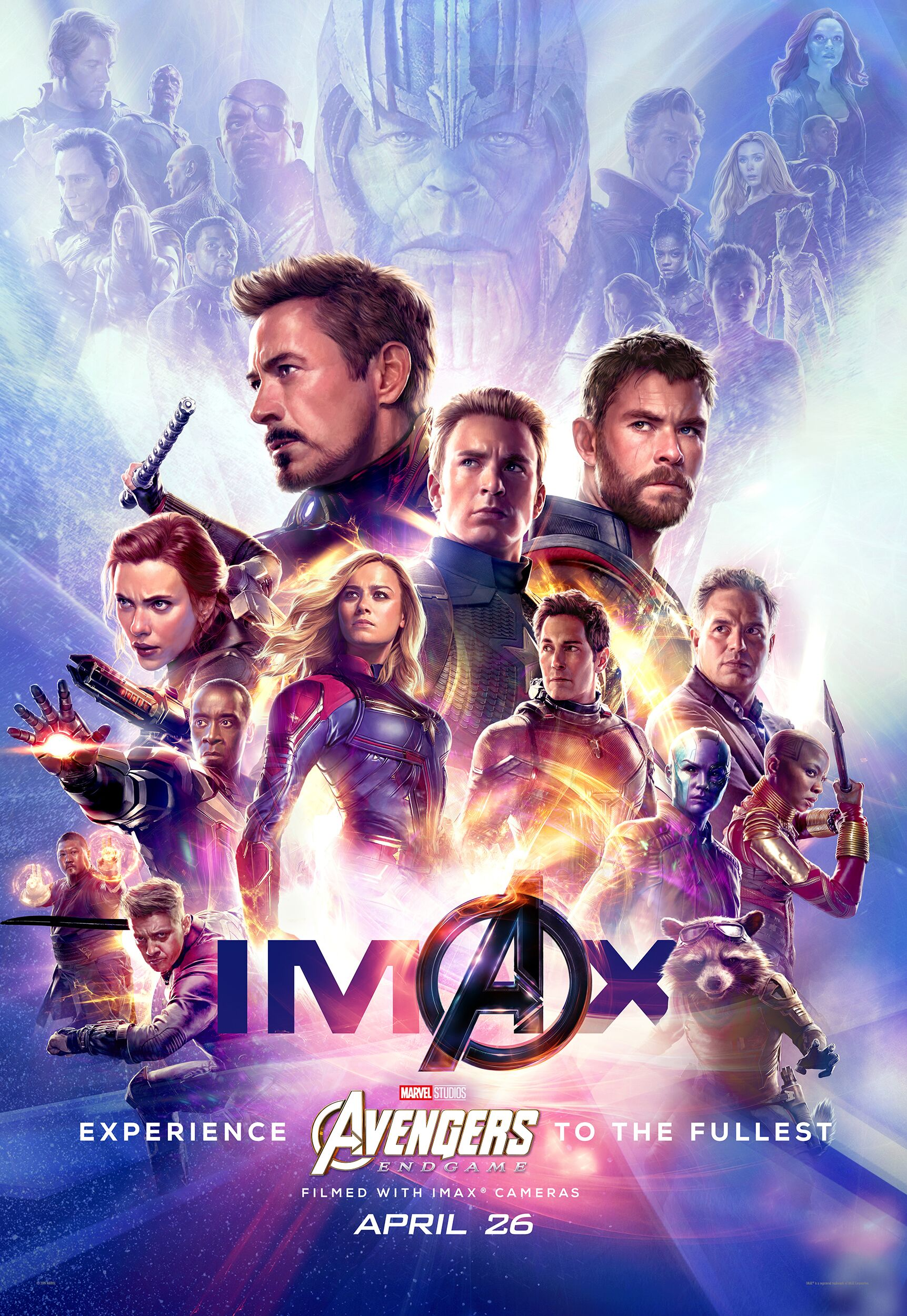 Avengers: Endgame was shot entirely using IMAX cameras (IMAX)