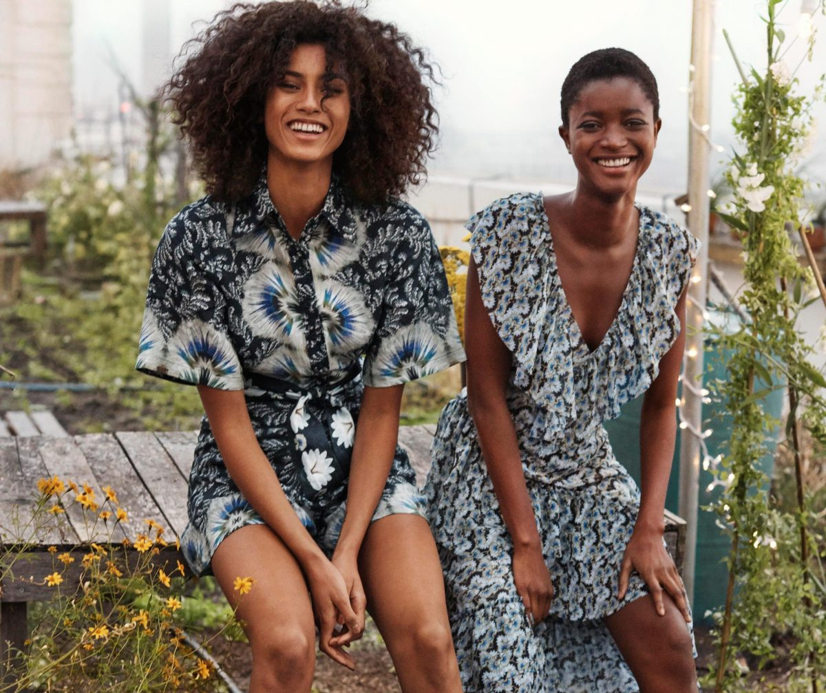 H&M's new eco collection has pieces made from pineapple leaves and orange peel