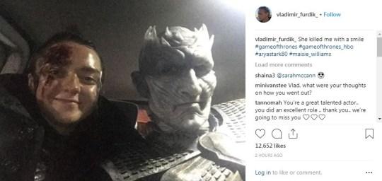 Arya and the Night King