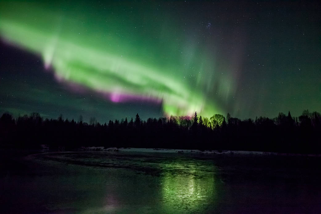 Nasa fired tracer rockets into the Northern Lights and the results were amazing