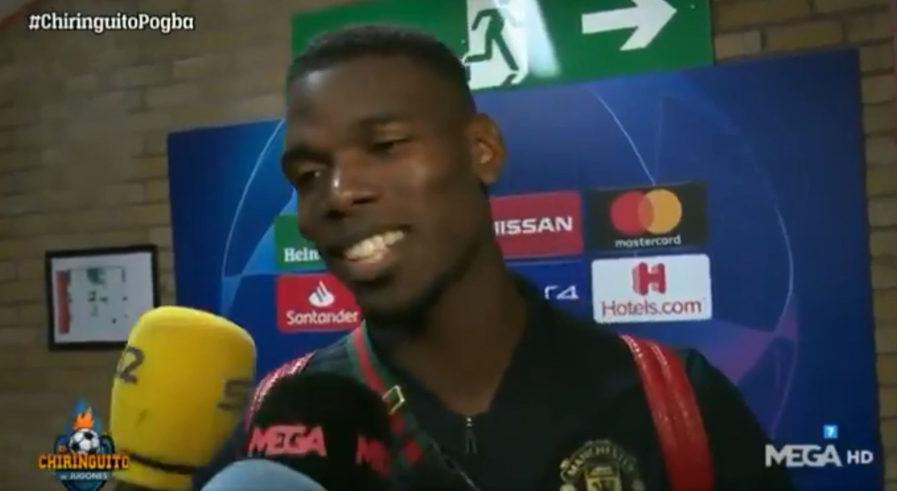 Paul Pogba dodges Real Madrid question after Manchester United's defeat to Barcelona