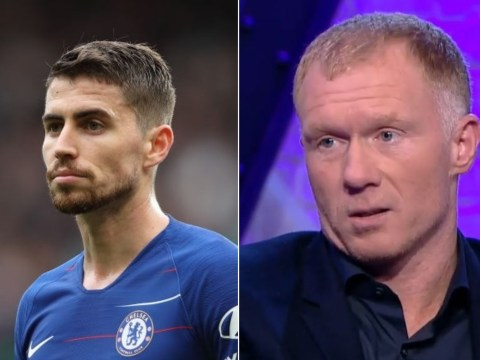 Paul Scholes identifies Jorginho as a problem for Maurizio Sarri and Chelsea