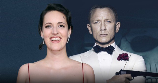 Phoebe Waller-Bridge and James Bond