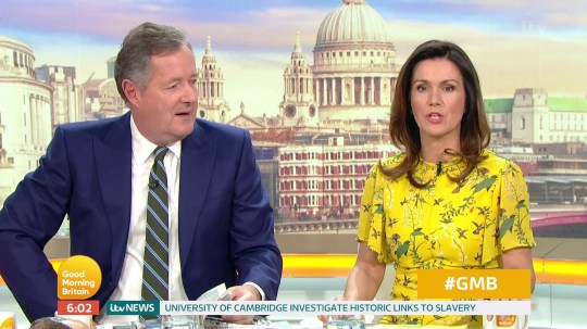 Piers Morgan loses sleep over going on The Chase