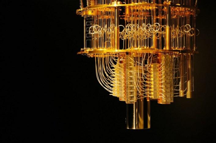 A quantum computer (Techspot)