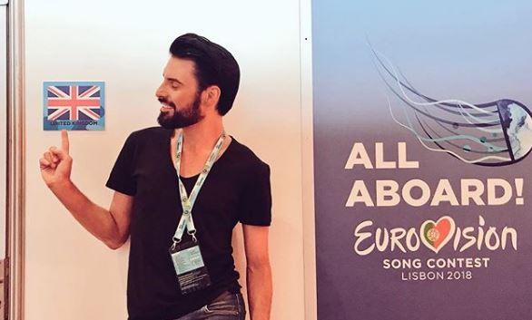 Rylan at Eurovision