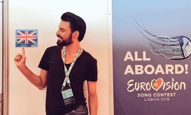 "Image result for rylan eurovision"""