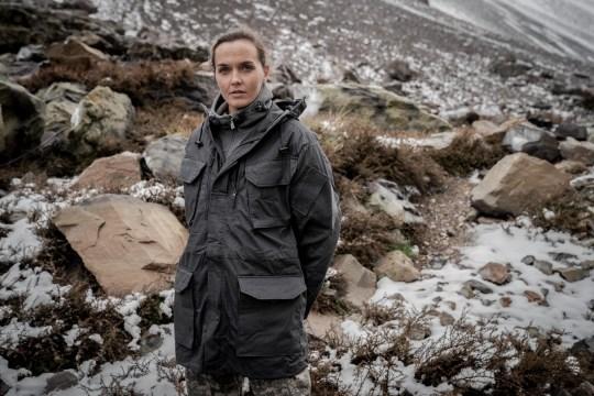 Victoria Pendleton SAS Who Dares Wins promo shot