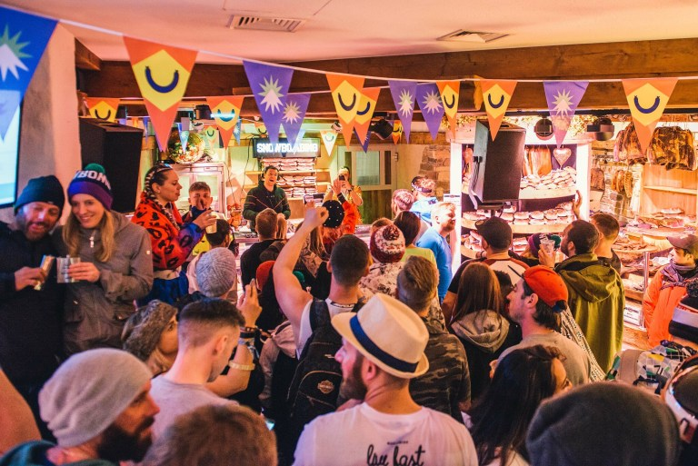 Hans the Butcher, a deli shop turned disco, played host to Skream, Waze and Odyssey and more (Caption: Carolina Faruolo / Fanatic)