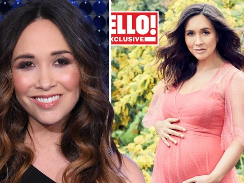 Myleene Klass is craving all the carbs as she talks 'magical' third pregnancy