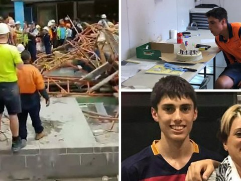 Building apprentice, 18, crushed to death after scaffolding collapses