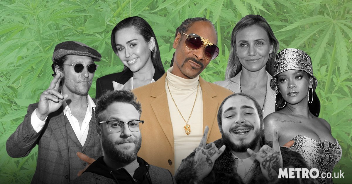 From Miley Cyrus to Cameron Diaz and Rihanna: The celebrities that get high with Snoop Dogg