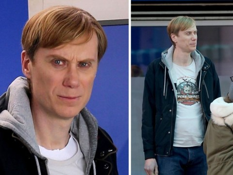 Stephen Merchant becomes the Grindr serial killer Stephen Port in new pictures from BBC drama