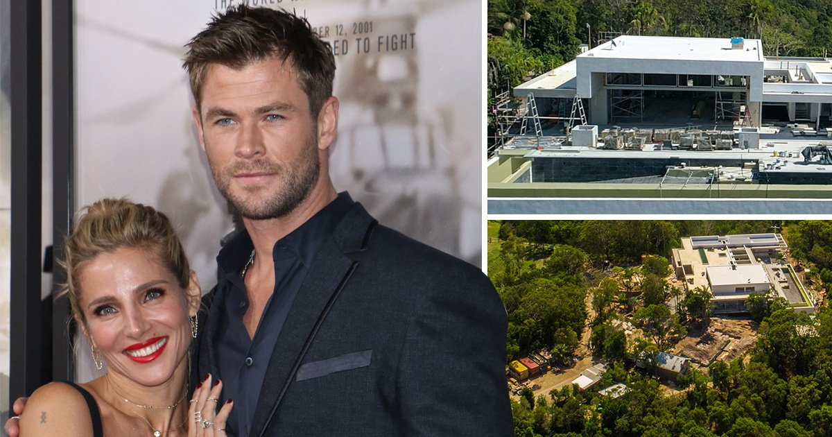 Chris Hemsworth and Elsa Pataky's $9million mansion almost finished after two years