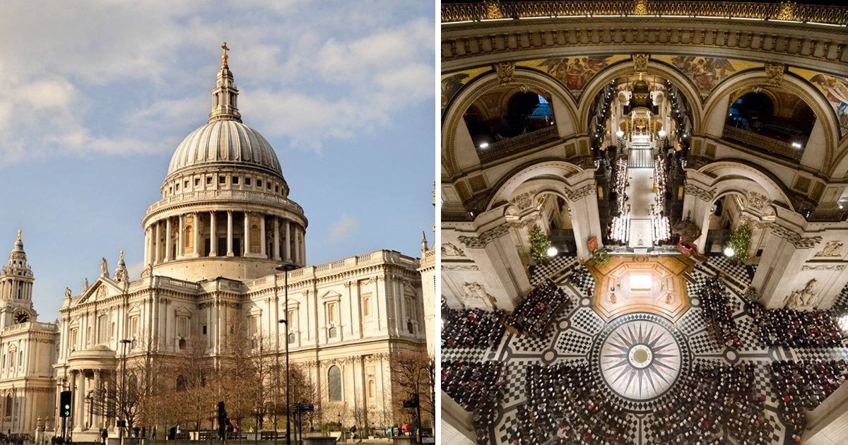 Teenager dies after falling from Whispering Gallery inside St Paul's Cathedral