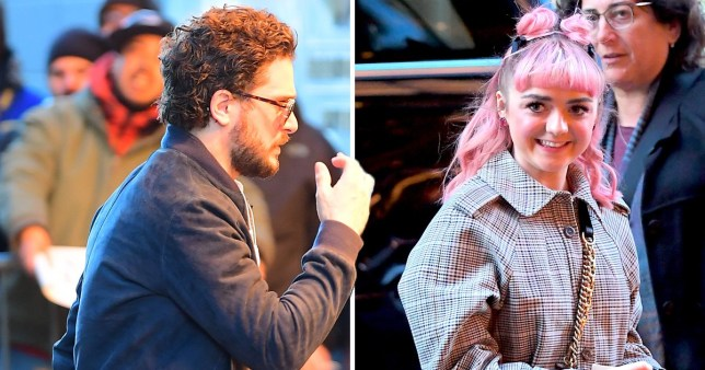 Game Of Thrones' Maisie Williams and Kit Harington all