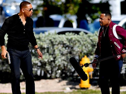 Things get heated between Will Smith and Martin Lawrence on Bad Boys 3 set as filming continues