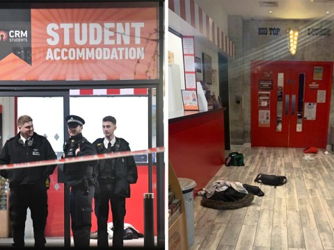Two people injured after being stabbed at student halls of residence in Wembley