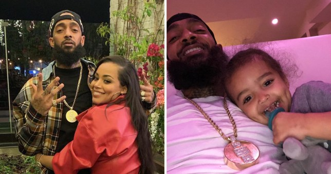 Lauren London shares first real photos of Nipsey Hussle's