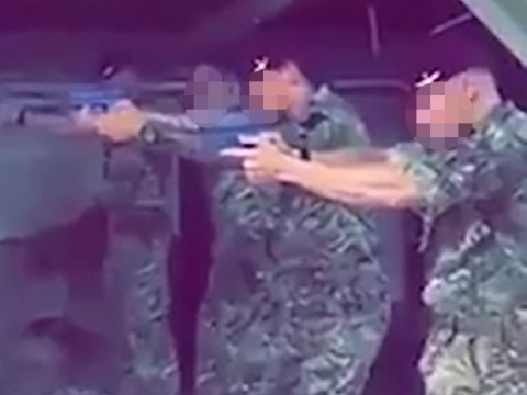 British soldiers filmed shooting Jeremy Corbyn poster in shooting range