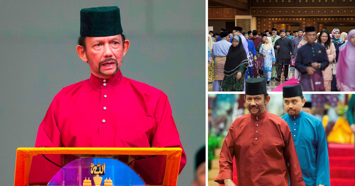 Gay people can now be legally stoned to death in Brunei
