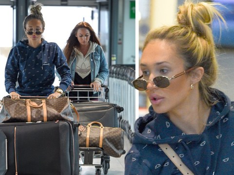 Megan McKenna gets back to work as she flies to Nashville days before Mike Thalassitis' funeral
