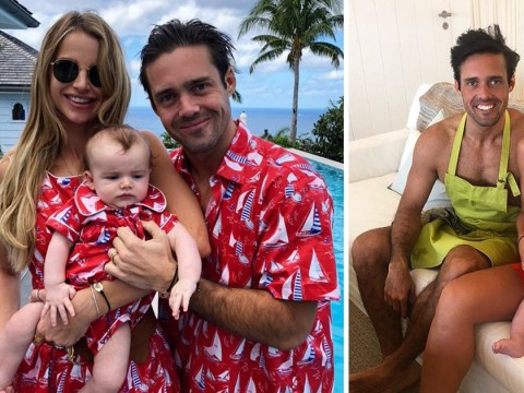 Spencer Matthews 'can't wait for baby number two' with wife Vogue Williams: 'Life is wonderful'