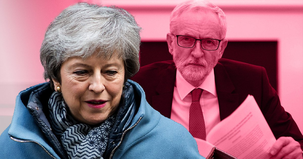 Theresa May under fire for holding Brexit talks with Jeremy Corbyn