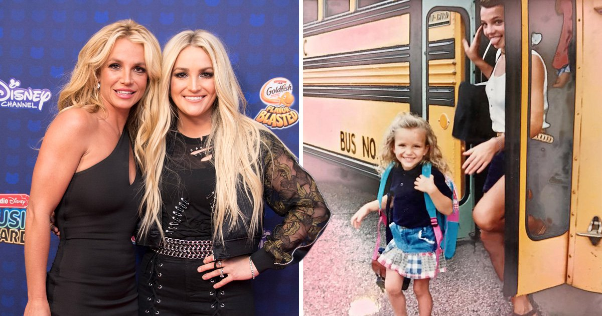 Jamie-Lynn Spears shares the sweetest throwback of sister Britney as she 'checks into wellness clinic'