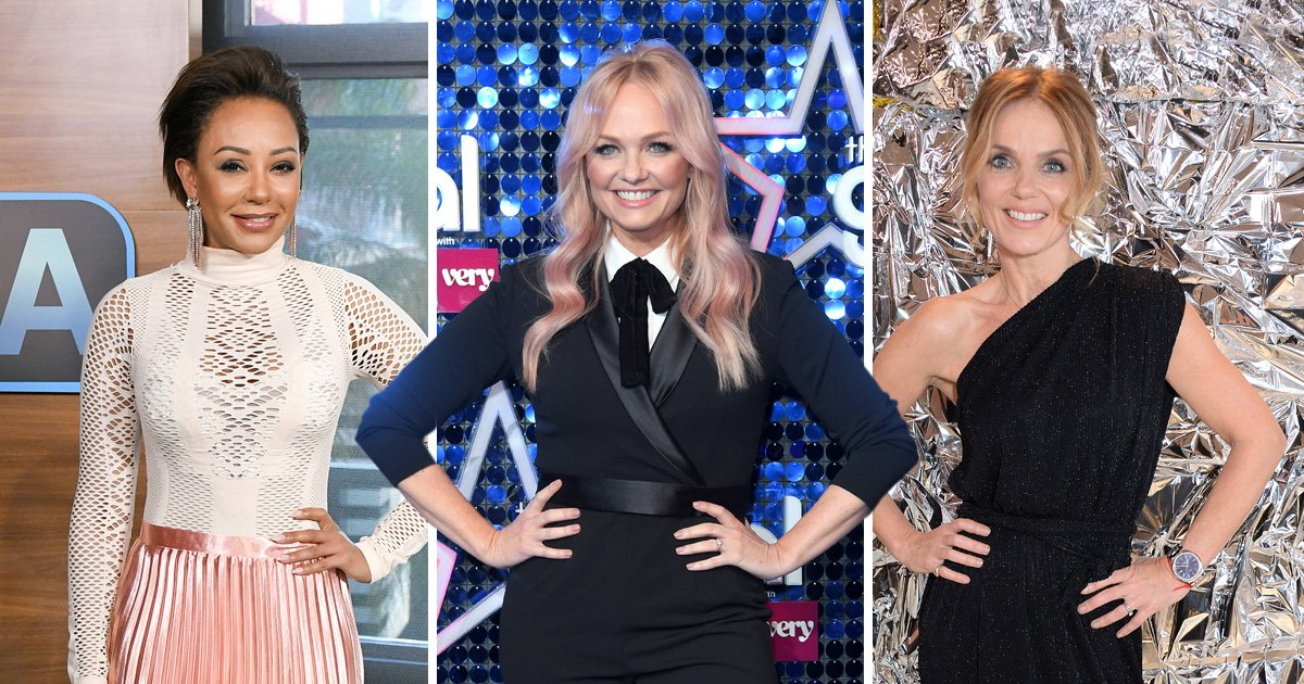 'The first I've heard about it': Emma Bunton breaks silence on Geri and Mel B sex claims