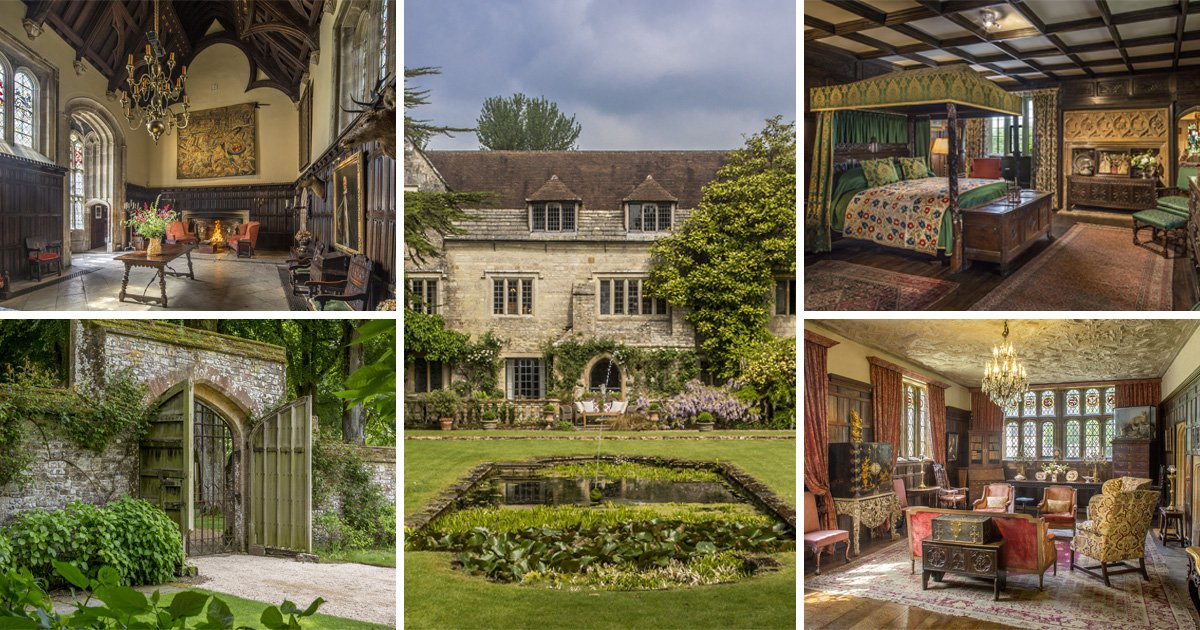 A stunning Tudor mansion with its own cinema is selling for £7.5 million