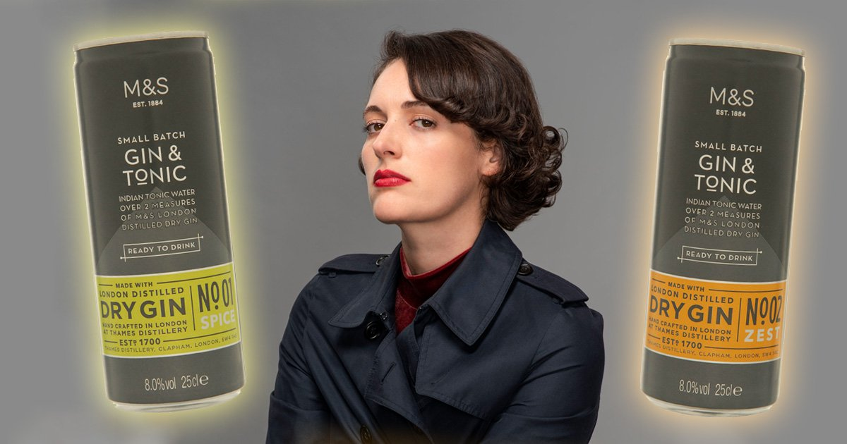Everyone's buying M&S gin & tonics because of Fleabag