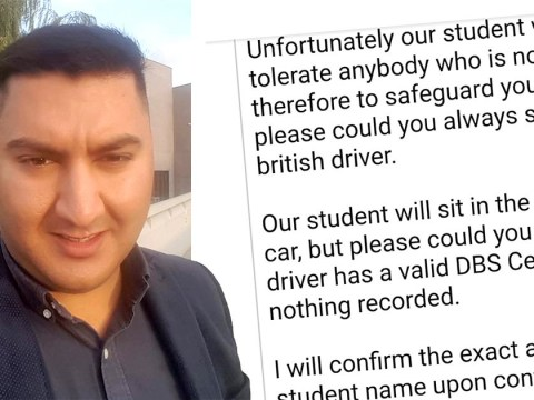 School forced to apologise for requesting 'white British' taxi driver for pupils
