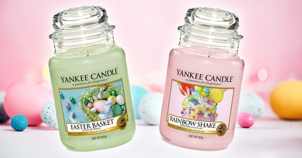 Yankee Candle launches Easter candles in pink and green