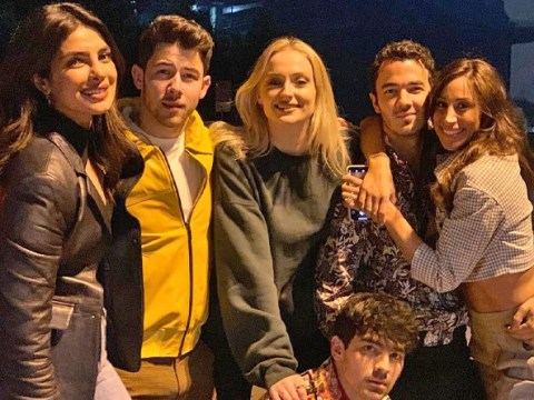Jonas Brothers look so happy during triple date with Priyanka Chopra, Sophie Turner and Danielle