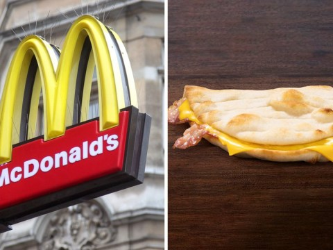 McDonald's is giving away free bacon and cheese flatbreads all this week