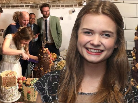 Great British Bake Off's Martha Collison celebrates wedding as co-stars provide the cakes