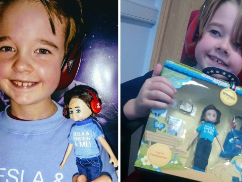 Boy inspires first ever doll with autism