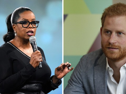 Prince Harry and Oprah Winfrey to join forces for new TV series on mental health