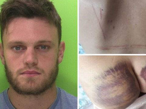 Footballer jailed after he broke woman's jaw and forced her to eat paint