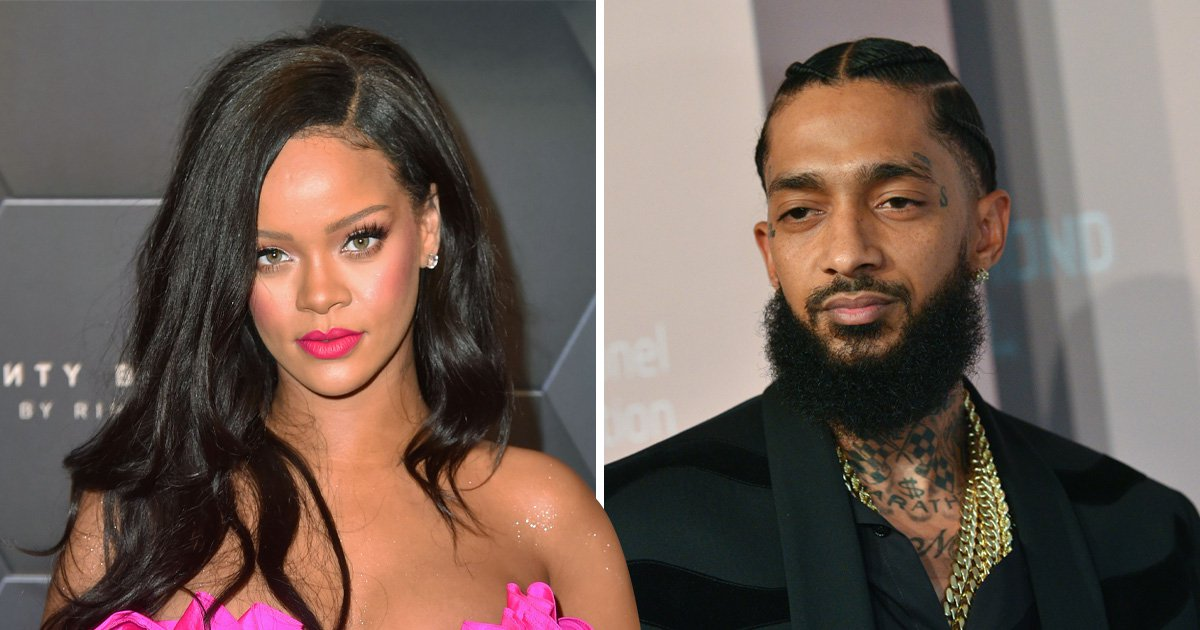 Rihanna heartbroken as Nipsey Hussle text messages reveal plans for collaboration