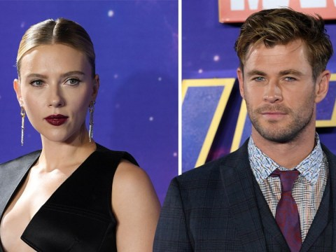 Scarlett Johansson and Chris Hemsworth lead the troops at Avengers: Endgame fan event