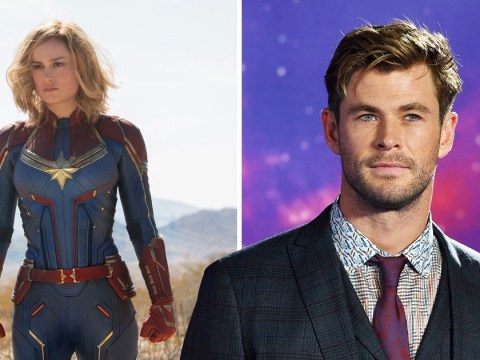 Avengers' Chris Hemsworth addresses spicy Thor and Captain Marvel Endgame theory