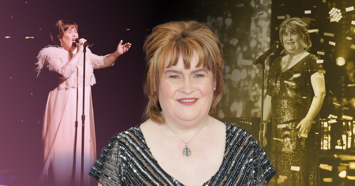 Susan Boyle refuses to spend £22 million fortune earned in 10 years since Britain's Got Talent