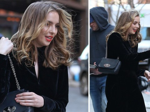 Killing Eve's Jodie Comer is far from Villanelle as she hangs out with fans after series 2 premiere
