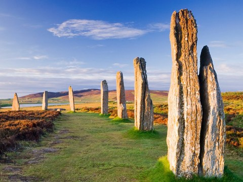 Idiots vandalise 4,000-year-old stone circle on remote Scottish island