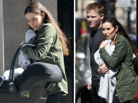 Gordon Ramsay's wife Tana is glowing as she runs errands with baby Oscar