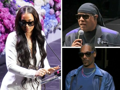 Nipsey Hussle's memorial: From Lauren London's speech to her son Cameron's dream, Barack Obama's letter and Stevie Wonder performing