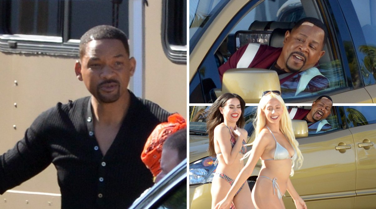 Martin Lawrence and Will Smith shoot hilarious catcalling scene for upcoming 'Bad Boys For Life'